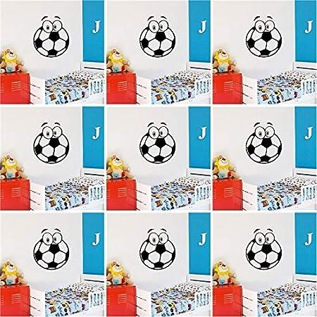 Ajcwhml Estilo fútbol Vinilo Impermeable Etiqueta de la ...