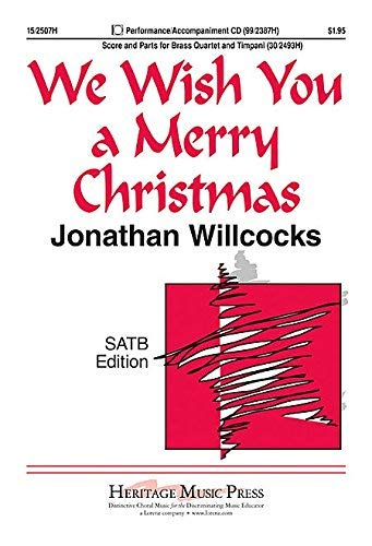 [(We Wish You a Merry Christmas: Vocal Score)] [Author: David Willcocks] published on (August, 1982) (Wish A Author You We Christmas Merry)
