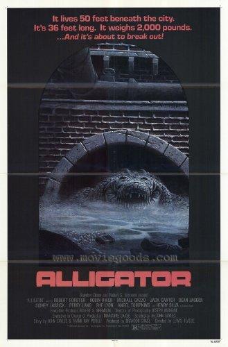- Alligator POSTER Movie (27 x 40 Inches - 69cm x 102cm) (1980)