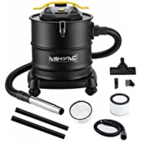 Ash Vacuum Cleaners -4.3 Gallon Tank Ash Vac-1200W 10 Amp Motor-2 Ash Filters -With Cleaning Kit for Fireplaces, BBQ Grills and Pellet Stoves, Multi Function Vacuum Cleaner