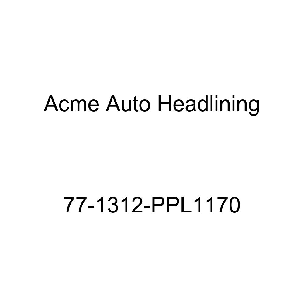 Acme Auto Headlining 77-1312-PPL1170 Dark Blue Replacement Headliner 1977 Cadillac Eldorado 2 Door Coupe 5 Bow