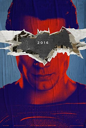"BATMAN V SUPERMAN: DAWN OF JUSTICE - Set of 2 Original Promo Movie Poster Set 13.25""x19.75"" Imax Rare 2016"