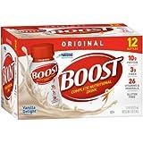 Boost Original Complete Nutritional Drink, Vanilla Delight, 8 fl oz Bottle, (Pack of 5)