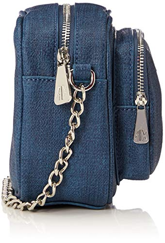 0x6 Mujer 5x18 body 14 T b 0 Cm Exchange Cross X Bolsos Azul Armani Bandolera Bag denim H wPxvAqYnfC