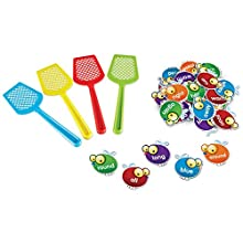Learning Resources Sight Word Swat a Sight Word Game, Visual, Tactile and Auditory Learning, 114 Pieces, Ages 5+