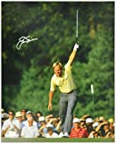 #5: Jack Nicklaus Autographed 16'' x 20'' 1986 Masters Victory Silver Ink Photograph - Fanatics Authentic Certified