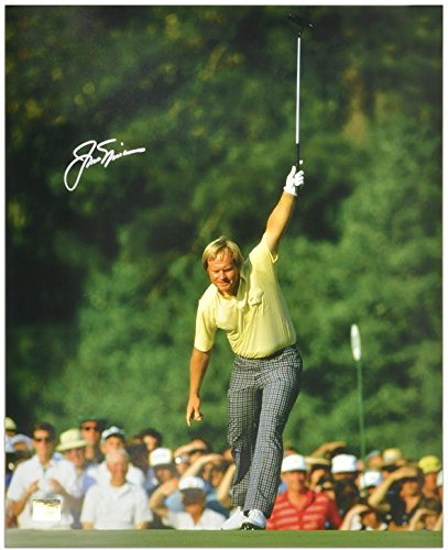Jack Nicklaus Autographed 16'' x 20'' 1986 Masters Victory Silver Ink Photograph - Fanatics Authentic Certified