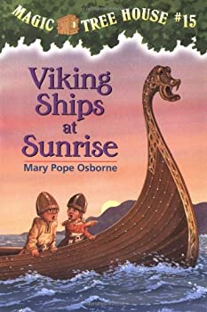 Viking Ships At Sunrise 0679890610 Book Cover