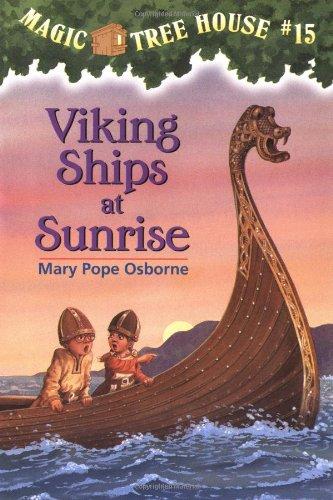Viking Ships At Sunrise - Book #15 of the Das magische Baumhaus