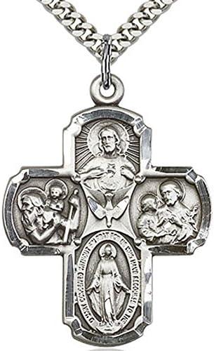 Heartland Mens Squared Cross Pendant product image