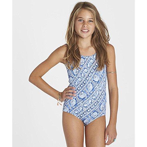 Billabong Big Girls' Sea Side One Piece Swimsuit, Multi, 8