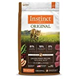 Instinct Original Grain Free Recipe With Real Duck Natural Dry Cat Food By Nature'S Variety, 10 Lb. Bag For Sale