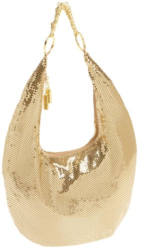 Gold Hobo Mesh Davis Chain Whiting amp; Gold Chunky H4ffaq