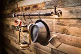 2WAYZ Wall Mounted 6 Hooks Hanging Cast Iron Coat