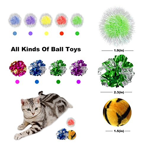 Simply-Me Cat Toys, 20 Pieces Interactive Toys Gift Set for Cats by Simply-Me (Image #5)