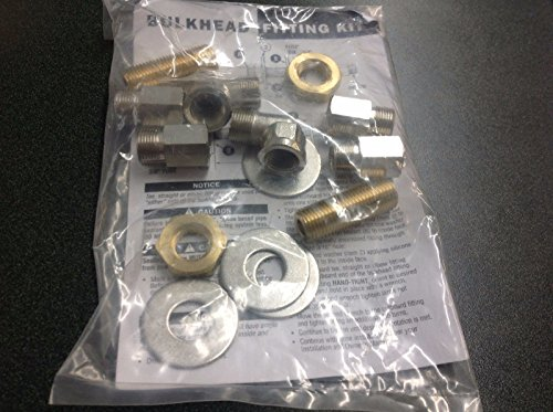 SeaStar Solutions (Teleflex) HF5512; Bulkhead Fitting 3/4 Max Single/Cylinder-Hydraulic ()