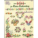101 Iron-On Transfers for Ribbon Embroidery, West, Deanna Hall