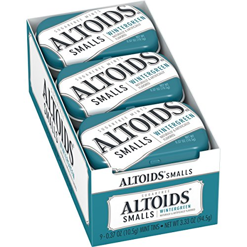 Altoids Smalls Mints, 0.37 Ounce (Pack of 9)