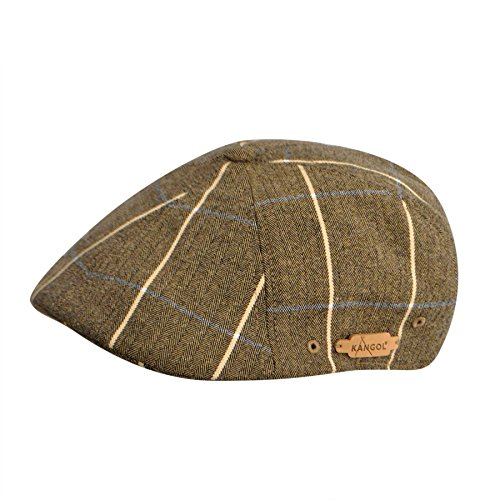 Kangol K1779CO Mens Plaid 504 Hat, Plymouth Check-S/M ()