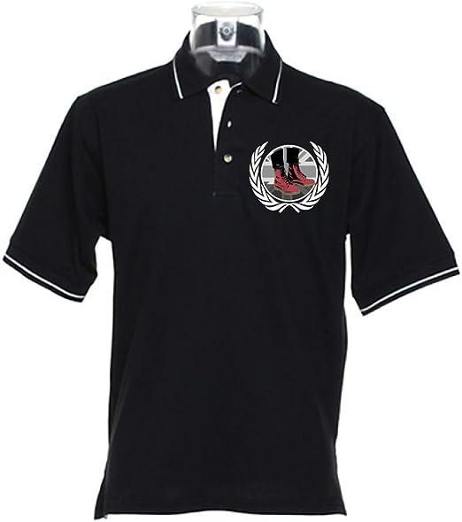 Skinhead Docs con Punta de Polo para Hombre T-Camiseta de Manga ...