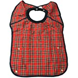 Deluxe Large Adult Bib - RED by Complete Care Shop