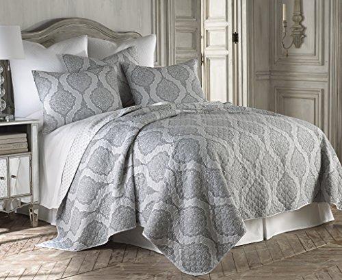 Levtex Home Hemingway Quilt Set, Full/Queen, Grey by Levtex home