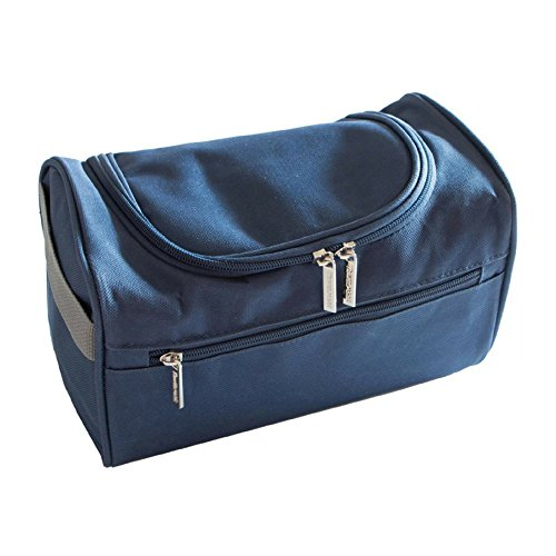 Toiletry Bag For Men - Can Be Used As Men's Shaving Dopp Kit To Hold Travel Size Toiletries - TSA Approved