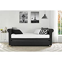 Sophia Daybed Sleepers and Futon with Trundle (Grey)