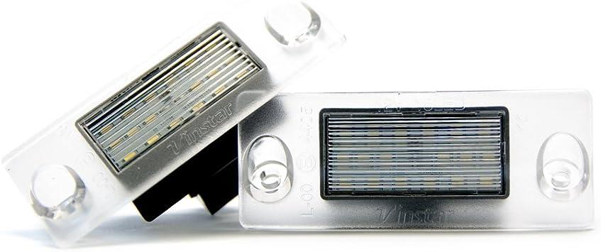 2 X Led Kennzeichenbeleuchtung Xenon Leuchte Kennzeichen 6000k Auto