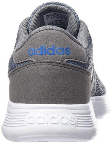 adidas Lite Racer K, Zapatillas de Deporte Para Niños Multicolor (Azul / Gris / Blanco) (Azusol / Gris / Ftwbla)