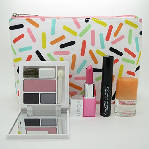 New! Clinique 2016 Fall 5-PC Makeup Gift Set - Pink, Sealed by Clinique