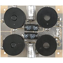 Parts Express Speaker Crossover 3-Way 8 Ohm 800/5,000 Hz 100W