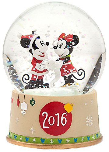 Disney Mickey Mouse & Minnie Mouse Snowglobe- Holiday 2016 (Mickey Mouse Snowglobe)