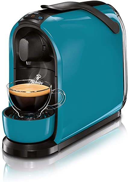 Tchibo Cafissimo Pure - Cafetera monodosis, color azul: Amazon.es: Hogar