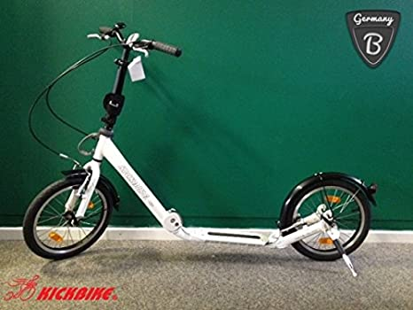 kickbike Clix Patinete 16/16 plegable color blanco con ...