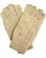 Luxury Divas Thermal Insulated Men's Half Fingerless Gloves