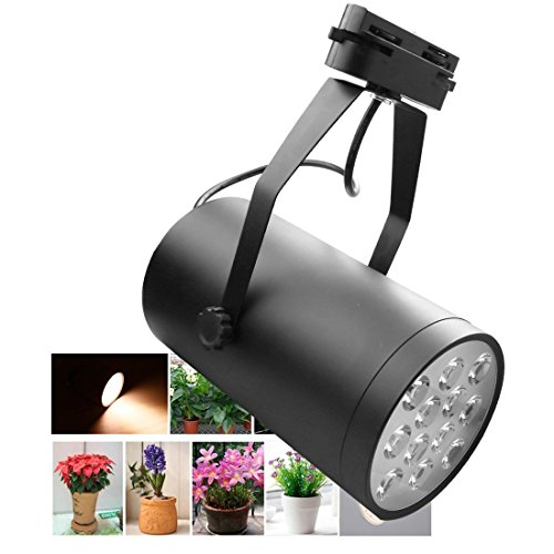 A-szcxtop Upgraded 12W LED Spotlight 12 LED Bulbs Plant Growth Light Adjustable for Patio, Yard, Driveway, Office, Home Garden, Greenhouse … by A-szcxtop