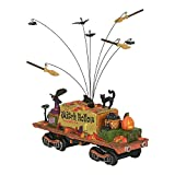 Department56 Snow Village Accessories Halloween Witch Hollow Supply Car Lit Figurine 3.39'' Multicolor