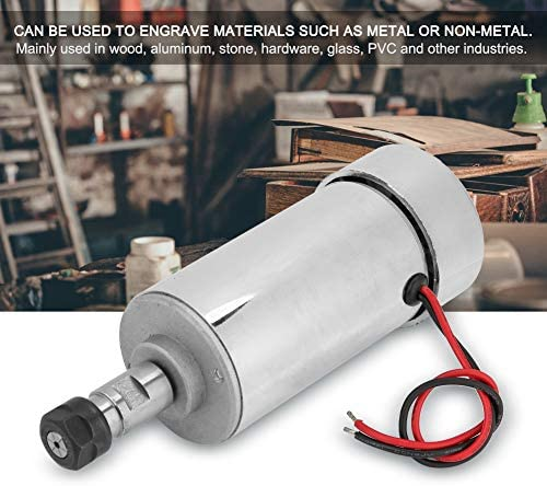 Neufday Spindle Motor,300W High Sp-eed Air Cool Spindle Motor for Milling Machine ER11 C-hunk
