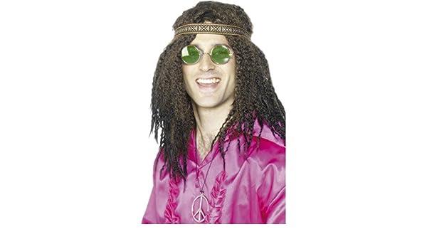 NET TOYS Disfraz de Hippie para Hombre Accesorios Traje ...