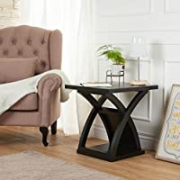 End Coffee Table Modern Espresso Home Decor Accent Living Room Furniture
