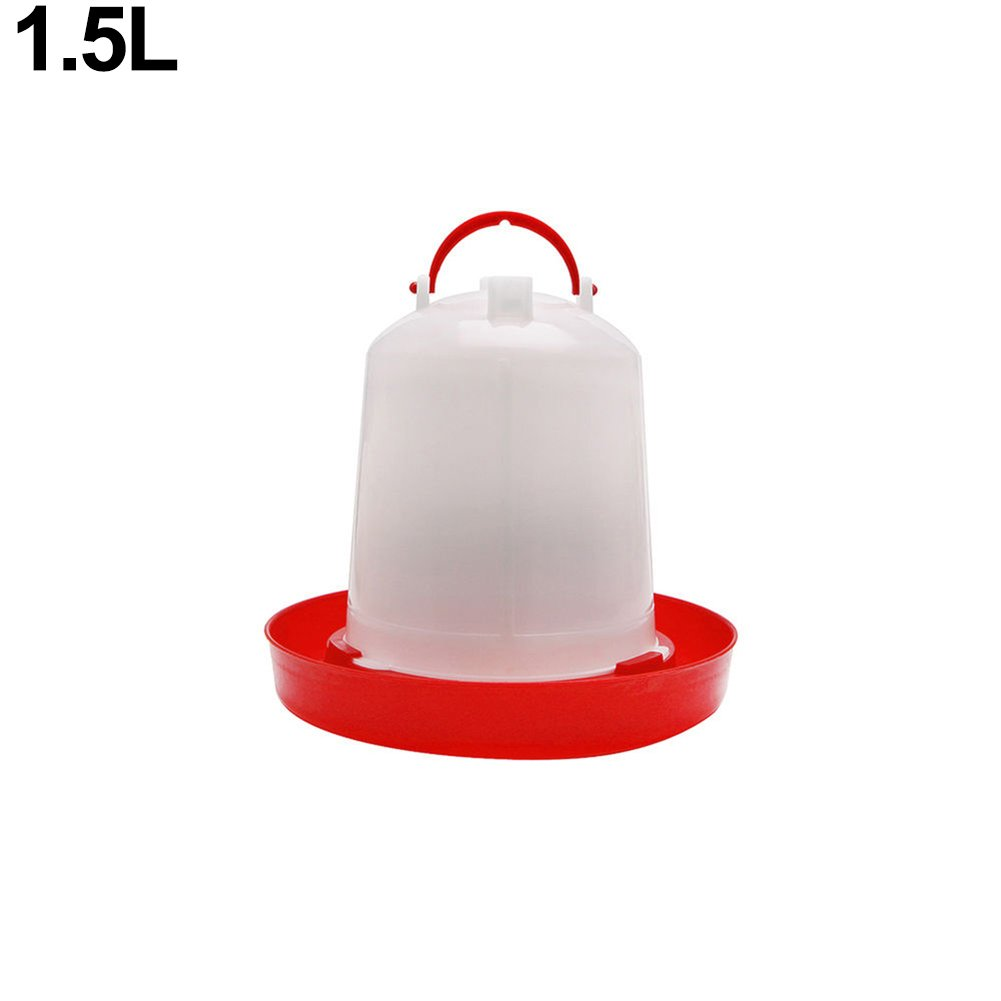 Everyday 1Pc Poultry Chicken Feeder Drinker Chick Hen Quail Bantam Food Water Kettle (B)