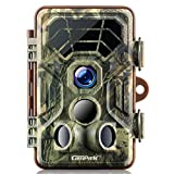 Campark Wildlife Trail Camera 1080P Game Camera Motion Activated Night Vision IP66 Waterproof for Hunting and Home Security