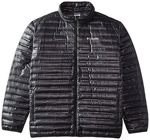 Columbia  Men's Flash Forward Down Jacket, Black, X-Large Tall by Columbia