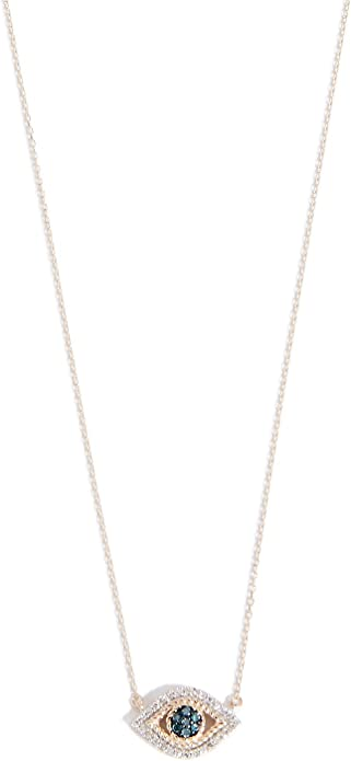 """18k gold chain solid yellow gold necklace 16/"""" 41cm 1mm blue sapphire accent"""