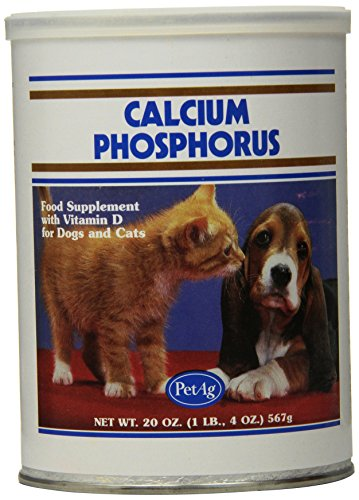 PetAg Calcium Phosphorus Growth Powder, 20-Ounce