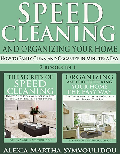 Speed Cleaning Organizing Your Home ebook product image