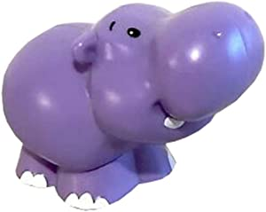 Replacement Part for Share and Care Safari - Fisher-Price Little People Share and Care Safari Playset FHF35 ~ 1 Purple Replacement Hippo