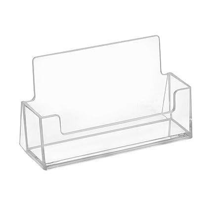 10 pieza tarjeta de visita Soporte horizontales – zeigis®/Soporte Para Tarjeta de visita/transparente/mesa/independiente/mesa/mesa expositor