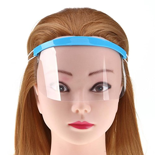 Leoy88 Pro Hair Salon Hairdressing Hairspray Mask Shield Protect Your Eyes Faces